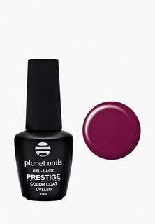 """Гель-лак для ногтей Planet Nails """"PRESTIGE"""" - 545, 10 мл вишнево-красный"""
