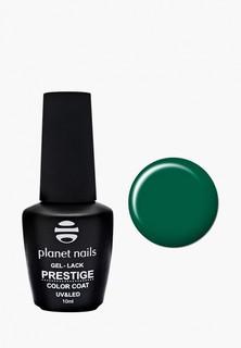 """Гель-лак для ногтей Planet Nails """"PRESTIGE"""" - 563, 10 мл зелено -морской"""