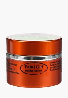 Гель-лак для ногтей Planet Nails 11829 Planet Nails - Paint Gel зеленая пастель 5 г