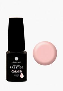 """Гель-лак для ногтей Planet Nails """"PRESTIGE ALLURE"""" - 603, 8 мл пастельный пляж"""