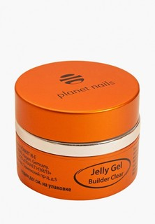 Гель-лак для ногтей Planet Nails 11073 Clear Builder Jelly Gel конструирующий, прозрачный 30 г
