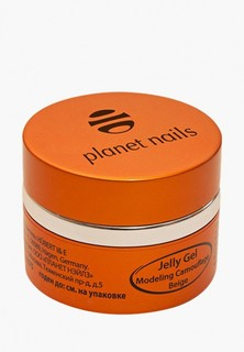 Гель-лак для ногтей Planet Nails 11074 Modeling Camouflage Beige Jelly Gel камуфлирующий, бежевый