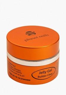 Гель-лак для ногтей Planet Nails 11072 Clear Builder Jelly Gel конструирующий, прозрачный 15 г