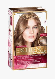 Краска для волос LOreal Paris LOreal Excellence 7 Русый
