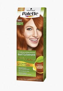 Краска для волос Palette ФИТОЛИНИЯ 390 Светлая медь, 110 мл