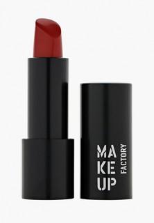 Помада Make Up Factory Устойчивая полуматовая для губ Magnetic Lips semi-mat&long-lasting тон 369 красный