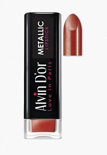 Помада Alvin Dor Metallic Lipstick Тон 17