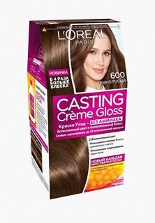 Краска для волос LOreal Paris LOreal Casting Creme Gloss, 600 Темно-русый