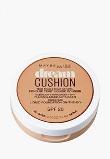 "Тональное средство Maybelline New York кушон ""Dream Cushion"", увлажняющий, оттенок 30, Sand, SPF 20, 14,6 гр"