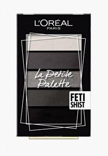 """Палетка для глаз LOreal Paris LOreal Мини """"La Petite Palette"""", оттенок 06, Одержимость"""