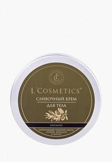 Крем для тела LCosmetics Lcosmetics сливочный «Питание» с маслом сладкого миндаля и маслом оливы, 150 мл