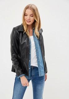 Куртка кожаная La Reine Blanche