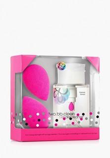 Спонж для макияжа beautyblender original и очищающий гель Blendercleanser 150 мл