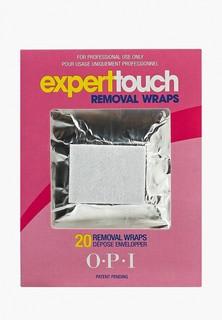 Средство для снятия лака O.P.I OPI Expert Touch Remover Pads, 20 шт