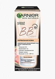 "BB-Крем Garnier ""Секрет совершенства"", увлажняющий, SPF 15, молочно-бежевый, 50 мл"