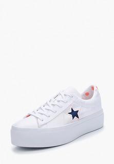 Кеды Converse One Star Platform