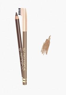 Карандаш для бровей Art-Visage тон 405 светло-коричневый
