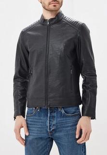 Куртка кожаная Mango Man - JOSENO