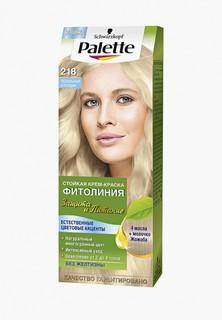 Краска для волос Palette ФИТОЛИНИЯ 218 Пепельный блондин, 110 мл
