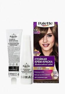 Краска для волос Palette Стойкая С6 Холодный средне-русый, 100 мл