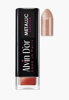 Помада Alvin Dor Metallic Lipstick Тон 08