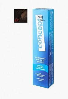 Краска для волос Concept без аммиака SOFT TOUCH 5.7 Темный шоколад, 60 мл