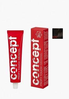 Краска для волос Concept Permanent color 4.73 Темный коричнево-золотистый