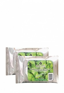Салфетки для снятия макияжа Skinlite Зеленый чай, 2*30, набор из 2 уп