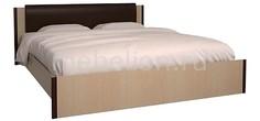 Кровать двуспальная Новелла СТЛ.105.02-01 дуб кремона/венге Столлайн