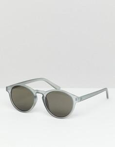 Серые солнцезащитные очки Pull&Bear - Серый Pull&;Bear