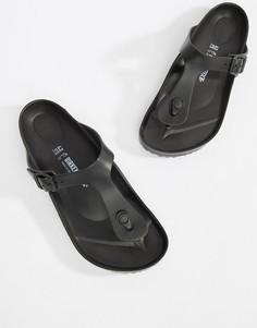 Черные сандалии Birkenstock Gizeh - Черный