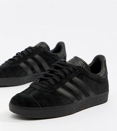 Черные кроссовки adidas Originals Gazelle - Черный