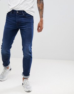 Зауженные джинсы Diesel Buster 084VG - Синий