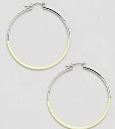 Желтые серьги-кольца Accessorize - Желтый