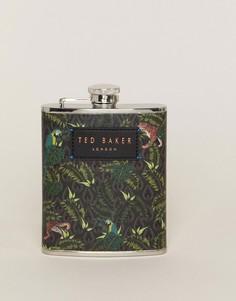 Плоская фляжка с принтом Ted Baker - Зеленый