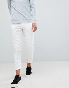 Суженные книзу белые джинсы New Look - Белый