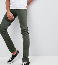 Зеленые джинсы узкого кроя ASOS DESIGN Tall - Зеленый