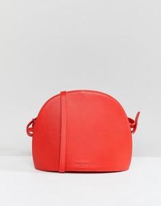 Красная кожаная сумка через плечо Vagabond Shannon - Красный