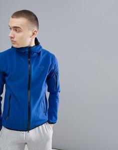 Синяя мягкая куртка с двойным капюшоном North Sails Raymond - Синий