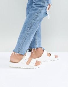 Белые сандалии Birkenstock Arizona Eva - Белый