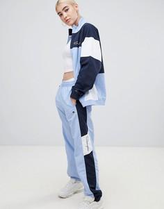 Спортивные штаны колор блок Champion - Синий