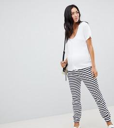 Джоггеры скинни с полосками ASOS DESIGN Maternity - Мульти