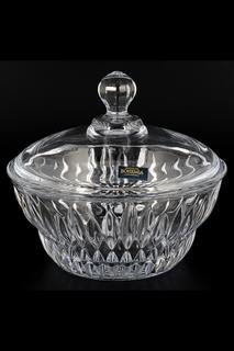 Конфетница 17 см Crystalite Bohemia