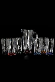 Набор графин и стаканы 7 пр. Crystalite Bohemia