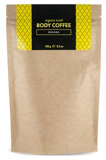 Скраб кофейный, банан, 200 гр Huilargan