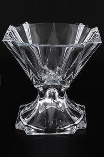 Конфетница на ножке Crystalite Bohemia