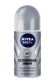 "Шариковый дезодорант ""Серебрян NIVEA"