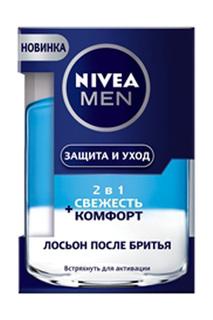 Лосьон после бритья 2 в 1 Свеж NIVEA
