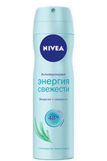"""Дезодорант-спрей """"Энергия свеж NIVEA"""