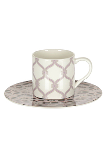 Набор, 6 чайных пар, 210 мл Royal Porcelain